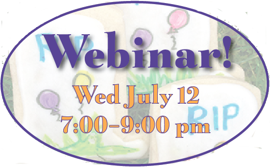 Possible First-Ever Plan Your Own Goodbye Party Webinar