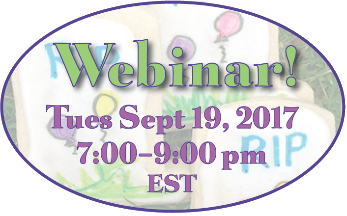 September Webinar on the calendar – join the party