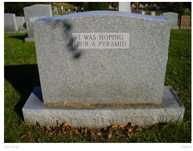 Have a good headstone