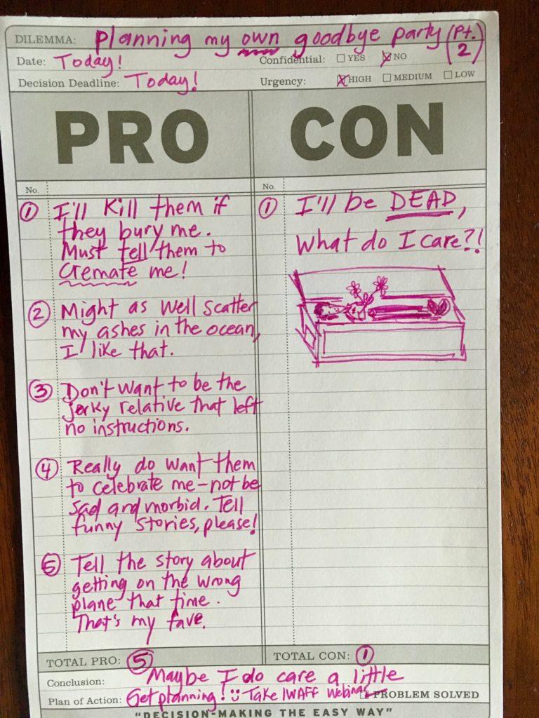 Plan_fun_funeral_Pro&Con