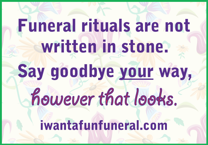 Envision a new kind of funeral