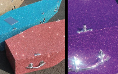 Glitter Caskets… something for everyone
